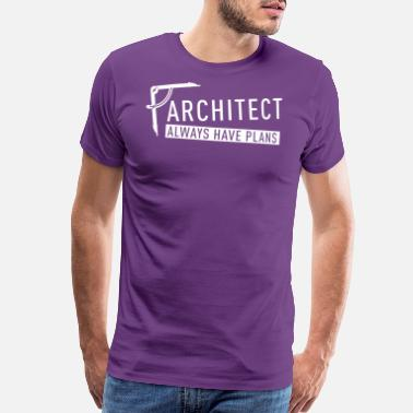 Solutions Architect always have plans - Men's Premium T-Shirt