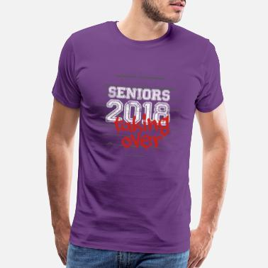High School Graduate Seniors2018TakingOver - Men's Premium T-Shirt