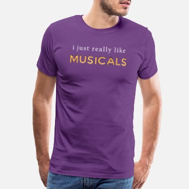 Rnb I Just Really Like Musicals product - Men's Premium T-Shirt