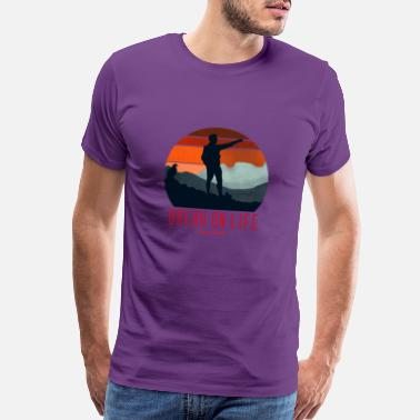 Meadow Break On Life - Men's Premium T-Shirt