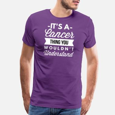 Testicular Cancer It's a Cancer thing - Men's Premium T-Shirt
