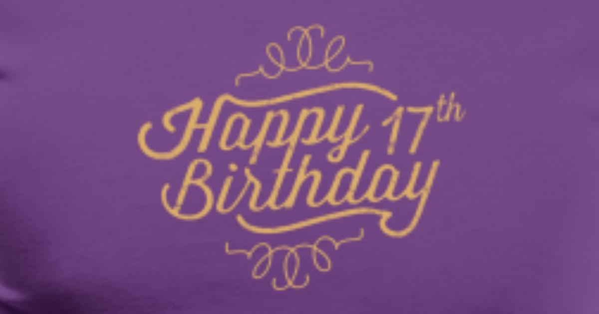 Happy 17th Birthday Mens Premium T Shirt Spreadshirt