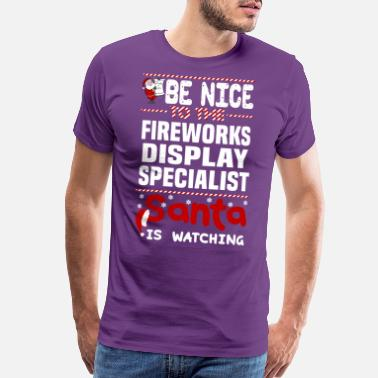 Display Fireworks Display Specialist - Men's Premium T-Shirt