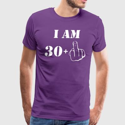 31st Birthday T Shirt 30 + 1 Made in 1986 - Men's Premium T-Shirt