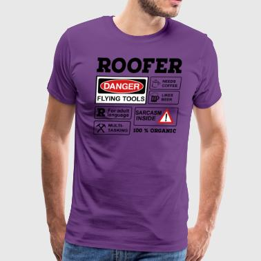 roofer - Men's Premium T-Shirt