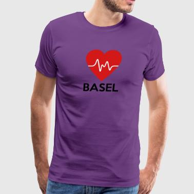 Heart Basel - Men's Premium T-Shirt
