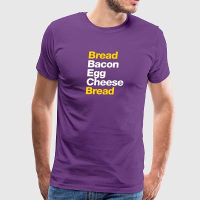 Recipe For A BEC Sandwich - Men's Premium T-Shirt