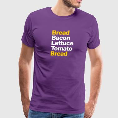 Recipe For A BLT Sandwich - Men's Premium T-Shirt