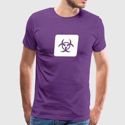 Caution: Biological Risk - Men's Premium T-Shirt