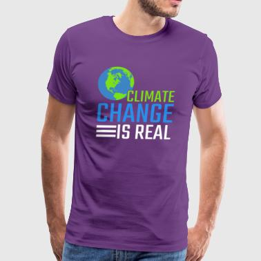 Climate Change Is Real Gift - Men's Premium T-Shirt