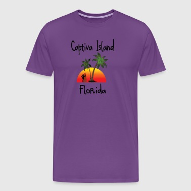 captiva island florida - Men's Premium T-Shirt