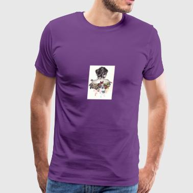 The love that surrounds her - Men's Premium T-Shirt
