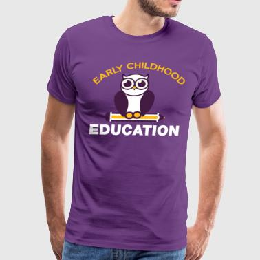 Early Childhood Education T Shirt - Men's Premium T-Shirt