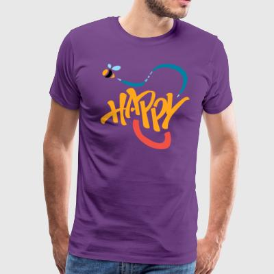 Bee Happy - Men's Premium T-Shirt
