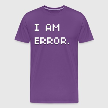 I Am Error - Men's Premium T-Shirt