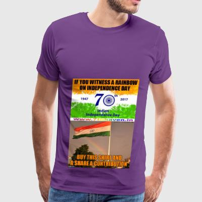 Independence day 70th Independ day India t shirt - Men's Premium T-Shirt