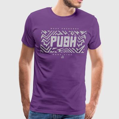CLC Push_Fire InspirVation Fitness Shirt - Men's Premium T-Shirt
