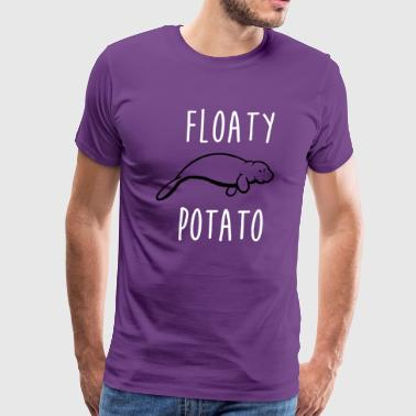 Floaty Potato Manatee Shirt - Men's Premium T-Shirt