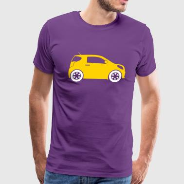 Small Compact Car - Men's Premium T-Shirt
