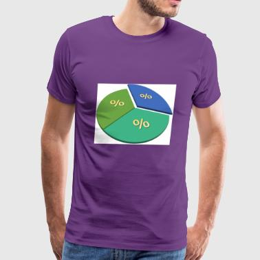 pie chart - Men's Premium T-Shirt