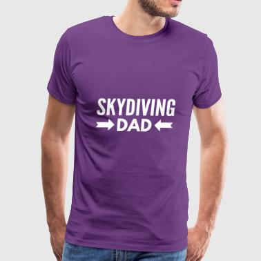 Skydiving Dad - Men's Premium T-Shirt