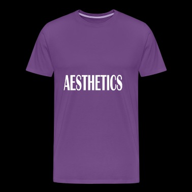 aesthetics - Men's Premium T-Shirt