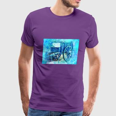 wagon - Men's Premium T-Shirt