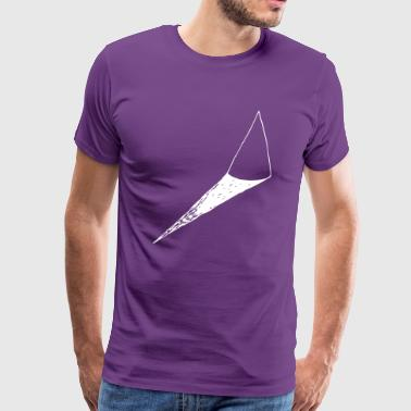 minimal tree mountain hat - Men's Premium T-Shirt