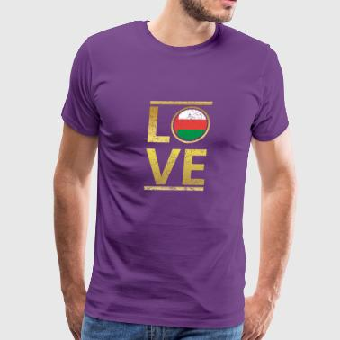 roots love home geschenk queen Oman - Men's Premium T-Shirt
