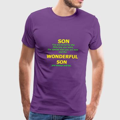 Son You are Loved For The Little Boy You Were - Men's Premium T-Shirt