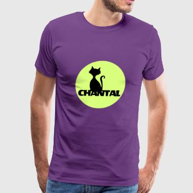 Chantal first name - Men's Premium T-Shirt