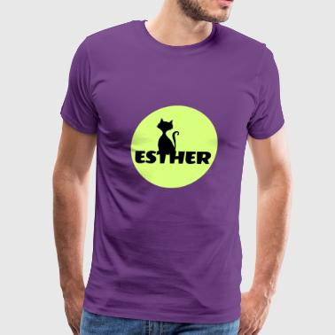 Esther first name - Men's Premium T-Shirt