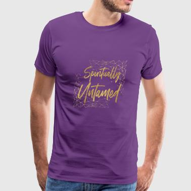 Spiritually Untamed Gold 1 - Men's Premium T-Shirt