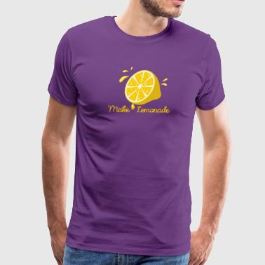 Make Lemonade From Life Lemons - Men's Premium T-Shirt