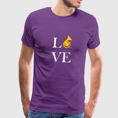 Love Horn - Men's Premium T-Shirt