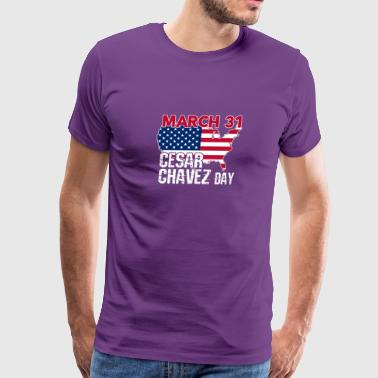 Cesar Chavez Day Gifts - Men's Premium T-Shirt
