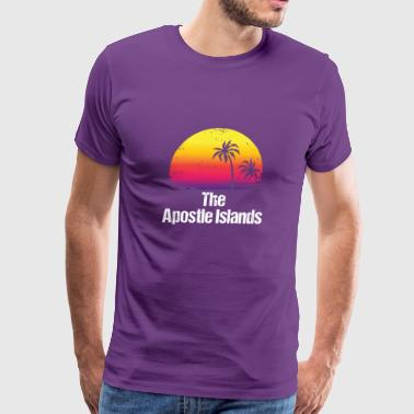 Summer Vacation The Apostle Islands Shirts - Men's Premium T-Shirt
