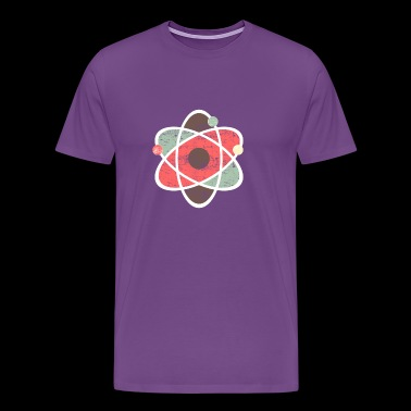 Atom Symbol Chemistry Science - Men's Premium T-Shirt