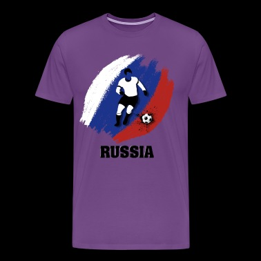 Support Russia National Soccer team! - Men's Premium T-Shirt