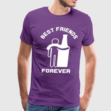 Beer best friends forever - Men's Premium T-Shirt