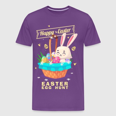 happy easter 284 - Men's Premium T-Shirt