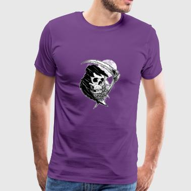 the bearded reaper - Men's Premium T-Shirt