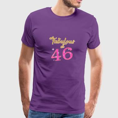 Fabulous at 46 - Men's Premium T-Shirt