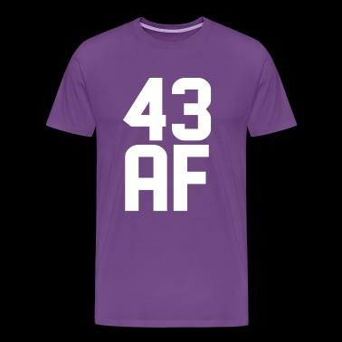 43 AF Years Old - Men's Premium T-Shirt