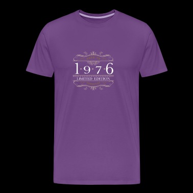 Limited Edition 1976 Aged To Perfection - Men's Premium T-Shirt