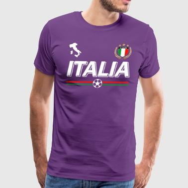 Italia football - Men's Premium T-Shirt