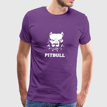 PITBULL TERRIER - Men's Premium T-Shirt