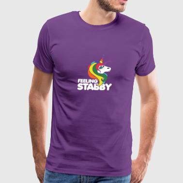 Feeling stabby - Men's Premium T-Shirt