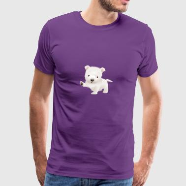 Cute and sweet puppy 22 - Men's Premium T-Shirt