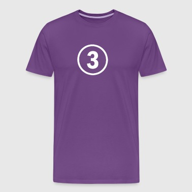 3 years old birthday - Men's Premium T-Shirt